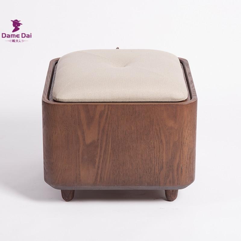 Aliexpress.com  Buy Wooden Organizer Storage Stool Ottoman Bench Footrest Box Coffee Table Cube Ottoman Furniture Fabric Cushion Top Ottoman Seat from ... & Aliexpress.com : Buy Wooden Organizer Storage Stool Ottoman Bench ... islam-shia.org