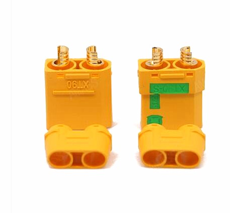 10/set Amass Anti Spark Connector Plug Male/Female XT90S XT90 S XT90-S FPV Drone Battery Connector RC Quad brushless motor Toys