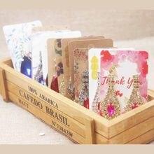 50pc pacote de cartões multi projeto da flor brinco de queda de Jóias brinco jóias brinco cartão cartão pacote colorido de papel para impressão 5*9cm