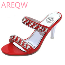 AREQW 2017 Summer New Women's Flat-bottomed Open Toe Sandals with Fine Trendy Sandals Wholesale Trend Size 34-39