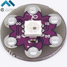 5 шт. Lilypad пиксель доска WS2812 5050 rgb led модуль для Arduino