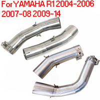 For YAMAHA R1 YZF R1 2004 2005 2006 2009 2010 2011 2012 2013 2014 Motorcycle Exhaust Pipe Muffler Front Link Mid Pipe AK222