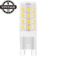 Lightinbox G9 Lâmpada LED 5 Watt, 400lm, 6000 K Dia Branco, Substituição de 40 Watts, 360 Feixe ângulo, 220-240 V AC, Não Regulável-Pack de 5