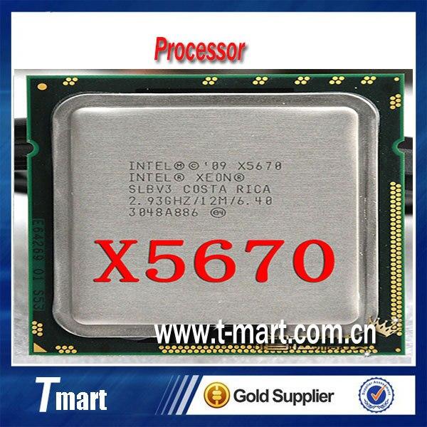 100% рабочих Процессоров Для Intel Xeon X5670 2.93 ГГц/LGA1366/12 МБ Кэша L3/Шесть Основных ПРОЦЕССОР, полностью Протестированы.