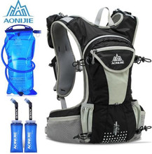 AONIJIE 12L Outdoor Sport Running Backpack Marathon Trail Running Hydration Vest Pack For 2L Water Bag Cycling Hiking Bag 12l water bags mochila bladder hydration cycling backpack outdoor trail running hiking bicycle bike bag sport camelback