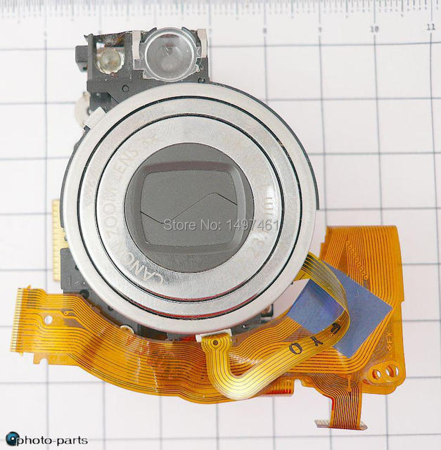 Optical zoom lens +CCD unit For Canon IXUS 900 TI;IXUS900 TI;PC1206;IXY1000;SD900 Digital camera