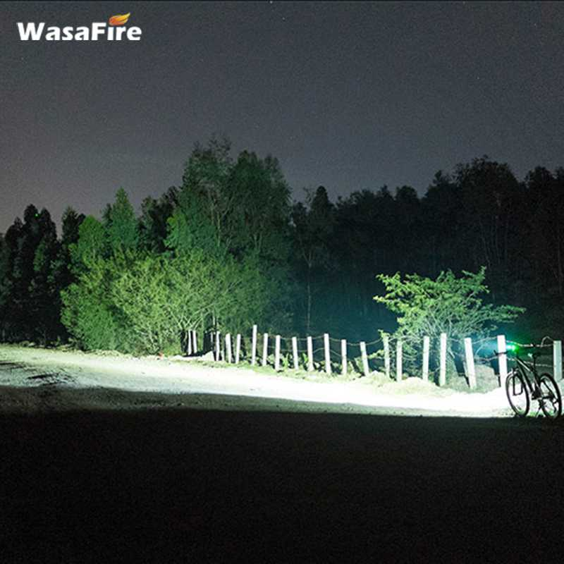 Fahrradlicht 30000 Lumen 13 Xml-T6 2 In 1 Scheinwerfer Fahrrad Taschenlampe Led Fahrradscheinwerfer F/ür Nachtfahrten Im Freien-Blau 9600