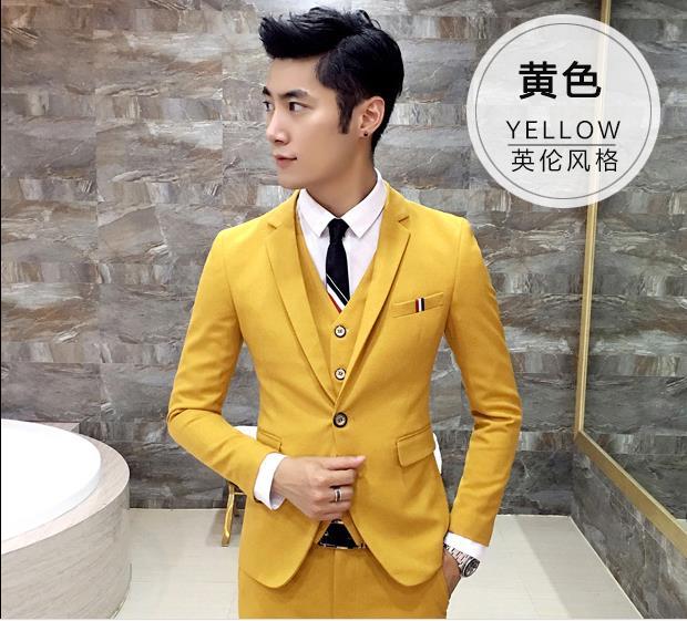 A yellow edding dress jackets