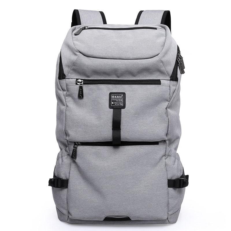 где купить New Backpack Men Backpack Oxford Canvas Travel Backpacks For Teenager High Capacity Student Backpacks Designer Men Laptop Bag дешево