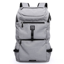 New Backpack Men Oxford Canvas Travel Backpacks For Teenager High Capacity Student Designer Laptop Bag