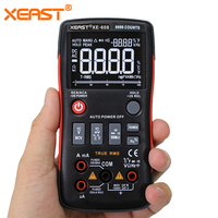 Lightning Delivery XL IN STOCK from RUSSIAN WAREHOUSE &to all the WORLD XE 608 True RMS Digital Multimeter Button 9999 Counts