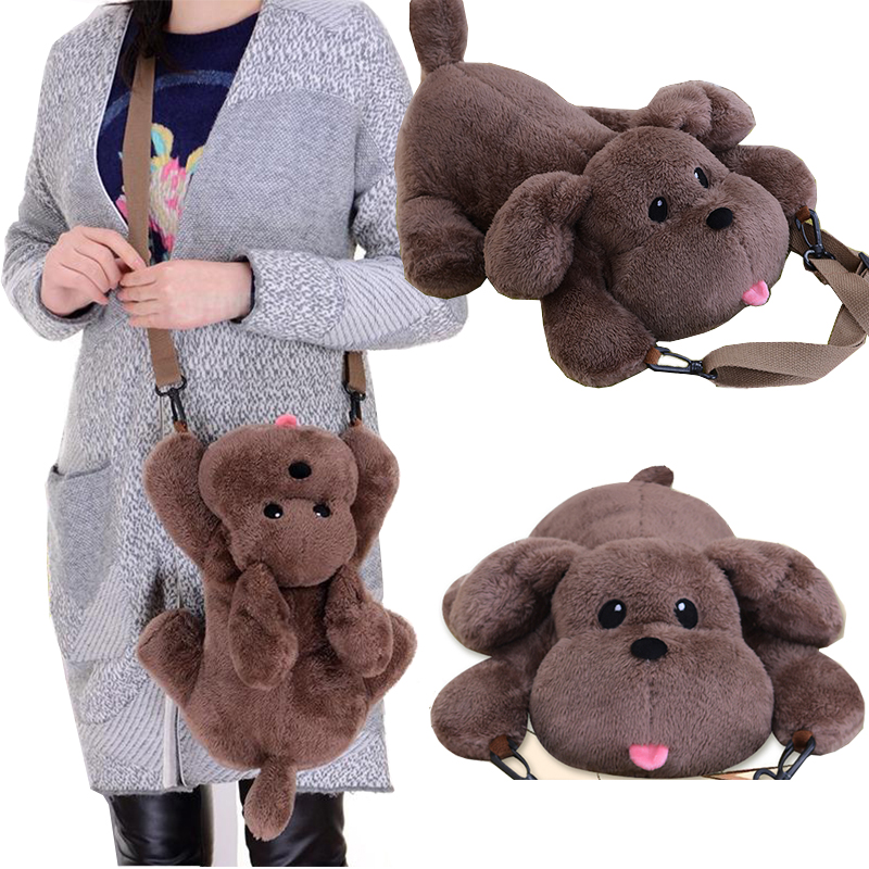 Anime YURI !!! on ICE Shoulder Bag 3D Dog Style Soft Plush Doll Toy Crossbody Bag Victor's Pet Cosplay Gift Phone Purse