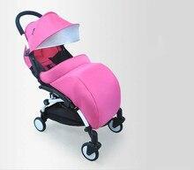 Universal Stroller Accessories Warm 300D Cloth and Warm Cotton Baby Stroller Foot Muff Buggy Pushchair Pram