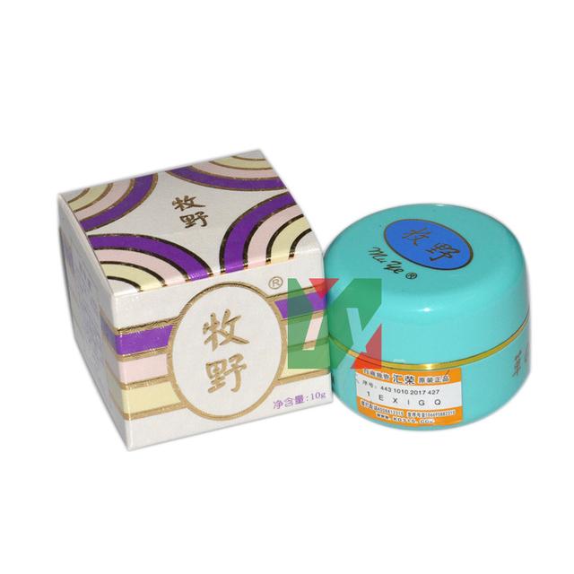 MU YE eliminación blanqueamiento peca crema mancha azul botella 10 g/pcs