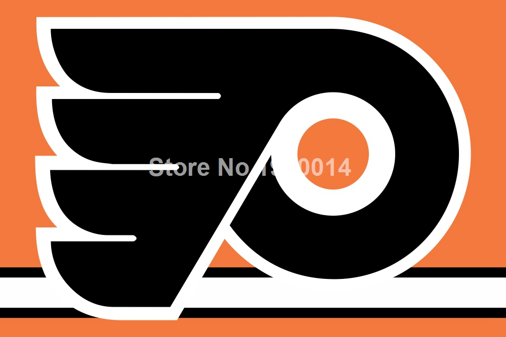 Philadelphia Flyers Flag 3ft x 5ft Polyester NHL Banner Philadelphia