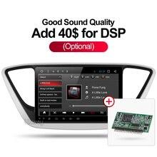 Uniway2G + 16G 2 din android de dvd del coche para el nuevo hyundai verna solaris accent 2016 2017 radio del coche reproductor multimedia gps
