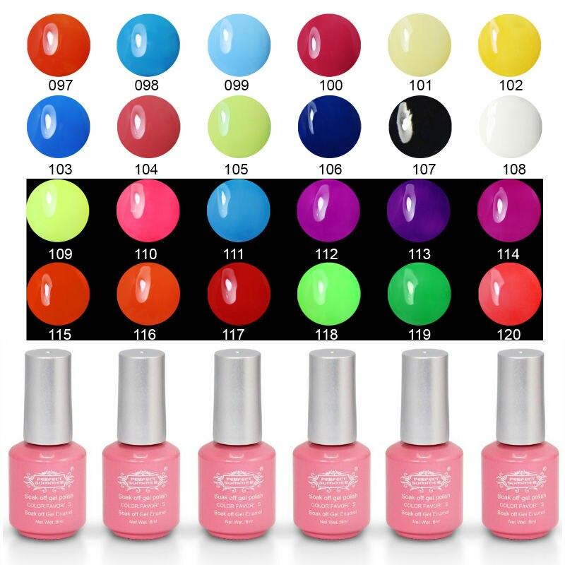 Gel Nail Polish Sale: Perfect Summer UV Gel Nail Polish Soak Off LED UV Nail Gel