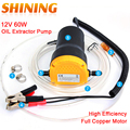 12V Oil Extractor Pump Full Copper Motor Hot Sale For Fluid Sump Extractor Scavenge Transfer Pump Car 24-5 High Efficiency
