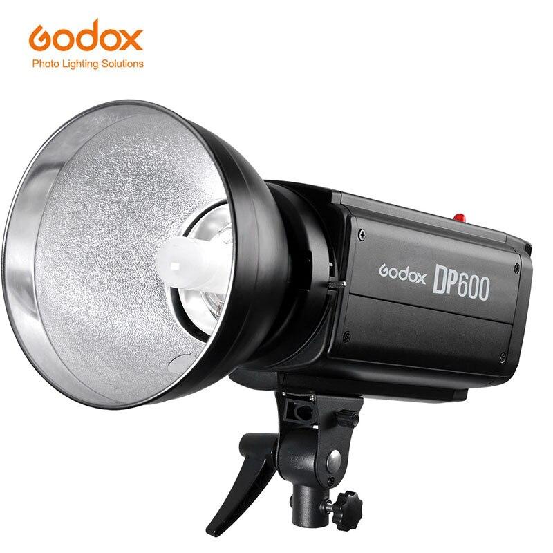 Flash de Estúdio Godox DP600 DP Série Max Flash GN80 600WS Poder porta de controle Sem Fio para a fotografia de casamento
