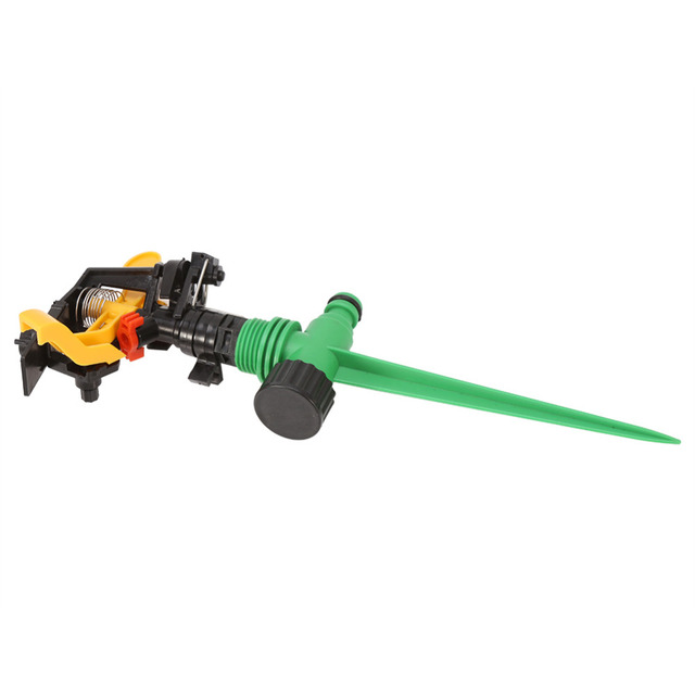 Garden Sprinkler Spike Lawn Grass 360 Degree Adjustable Rotating Water Sprayer For Garden Irrigation System