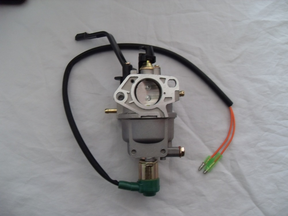 ФОТО GX390 13HP Engine Carburetor Assembly Manual Control,188F 190F Generator Carburetor