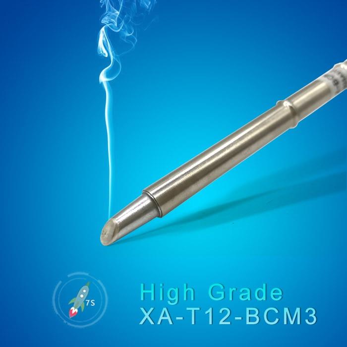 цена на 2018 QUICKO T12 Series high grade Soldering Iron Tips BCM3 for FX-951 Welding Iron station 24V 75w 20000 Soldering joints