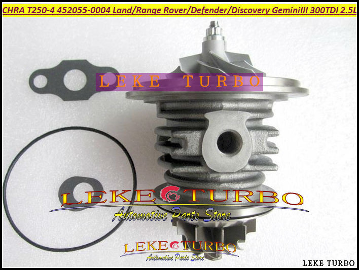 Turbo CHRA Core T250-04 452055 0004 452055-5004S 452055-0005 452055-0007 452055-0008 ERR1907 PMF100510 For Land Rover Gemini III turbo cartridge chra core t250 04 452055 452055 0004 452055 0007 for land rover discovery for range rover gemini 3 300 tdi 2 5l