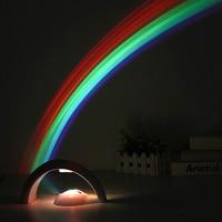 Promotion Trendy Magic Rainbow LED Projector Lamp Night Light Room Decoration Kid Gift Multicolor Light Lampada