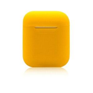 Image 4 - TPU ソフト Airpods アクセサリープロテクターカバーのための透明超薄型カバー耐衝撃ホルダーためのポッド