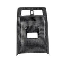 Автомобильный Кондиционер вентиляционное отверстие крышка отделка подлокотник коробка все включено задний для Toyota Rav4 Rav 4 углеродное волокно стиль