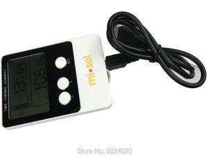 Image 4 - مسجل البيانات درجة الحرارة الرطوبة USB Datalogger ميزان الحرارة سجل البيانات