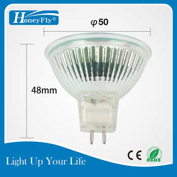 HoneyFly 3pcs Orange Flame Lamp 35W/50W 12V/220V GU5.3 JCDR Dimmable Halogen Lamp Bulb Spot Light Quartz Fireplace SomineLamba