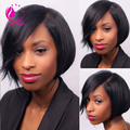 Promotion!African American U Part Wig Brazilian Human Hair Short Bob U Part Human Hair Wigs On Sale U Part Bob Wig Free Shipping