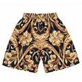 Venda quente shorts homens bermuda masculina impressão 3d Lion King/Tupac/Jesus/Virgem Maria Crânios Hip Hop 3d calções