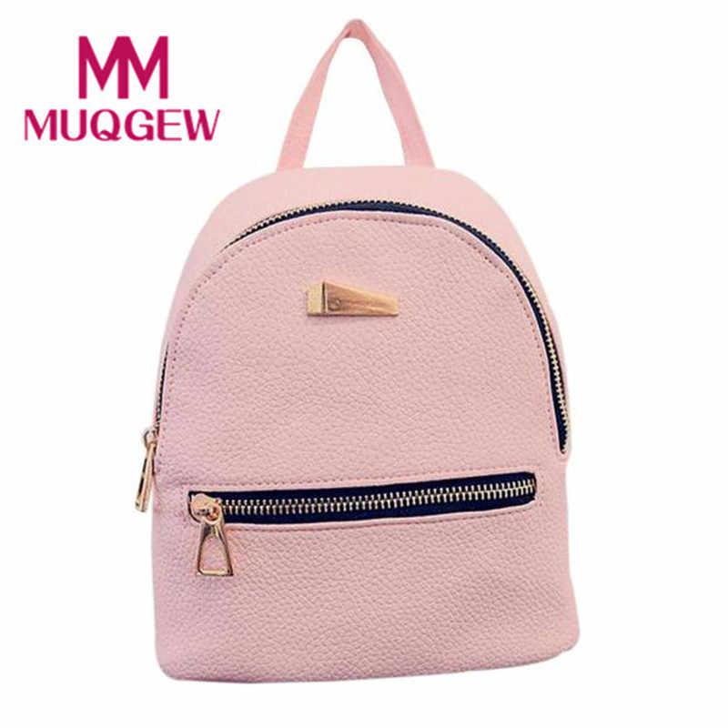 f78ba7341d Hot New 2018 Mini Women s Backpack Travel School Bags Rucksack Ladies Bags  for Women Bolsa Escolar