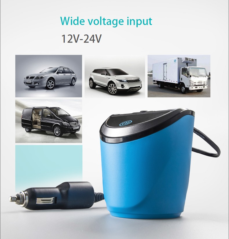 12 24V 3 1A output USB car charger with Voltage Current display quick  charge car cup holder Car Cigarette Lighter Socket Adapter-in Car Charger  from