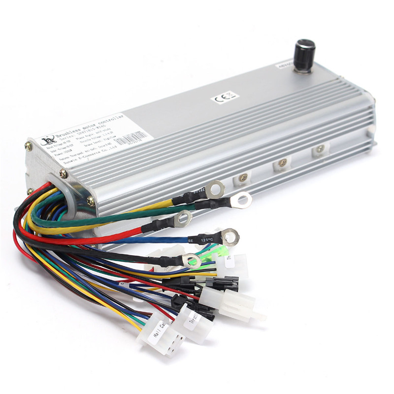 48V/72V 1500W Electric Bicycle Brushless Motor Controller For E-bike & Scooter цена