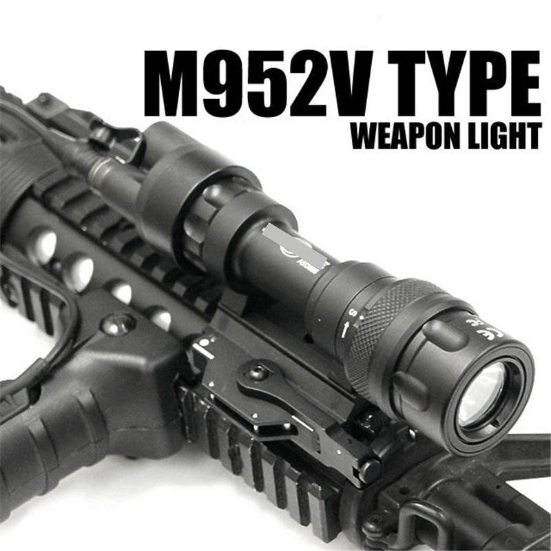 CQC Airsoft M952V Scout Light QD Mount Tactical LED Flashlight Paintball Hunting Rifle Weapon Light CQC Airsoft M952V Scout Light QD Mount Tactical LED Flashlight Paintball Hunting Rifle Weapon Light
