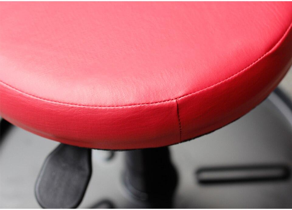 Image 4 - Красное Пневматическое сиденье для Потрошителя, регулируемое по высоте соковыжималка атмосферный поворотный стул с колесами MO 603-in Наклейки на автомобиль from Автомобили и мотоциклы