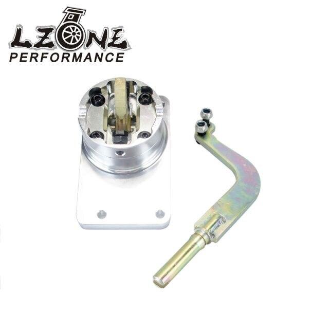 LZONE гонки-новый короткий Сдвигатель для Холден Commodore VT VU VX VY VZ LS1 V8 T56 короткие Shifter серебро новый ВПГ JR5390