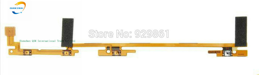QiAN SiMAi 1PCS New 100% Original Power On/Off + Volume Up/Down button Flex Cable For Nokia Lumia 1520 mobile Phone