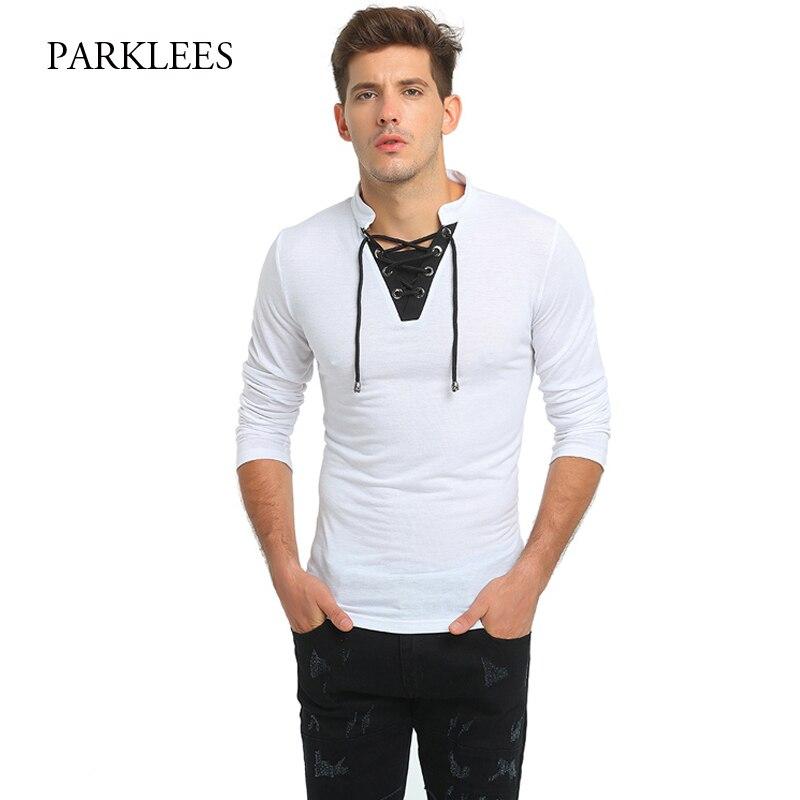 Brand White T Shirt Men Hit Color Tee Shirt Homme 2017