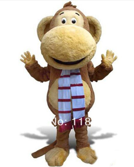 MASCOT Big Mouth Monkey mascot costume custom fancy costume anime cosplay kits mascotte fancy dress carnival costume