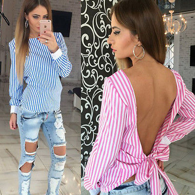2016 Sexy Fashion Womens Lace Tops femme blause Long Sleeve Shirt Casual Blouse Loose shirt