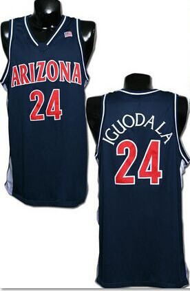 pretty nice 8d0b3 7f965 #24 Andre Iguodala Arizona State Sun Devils Throwback Retro College  Basketball Jersey Navy Blue White Jerseys High … #7888-William