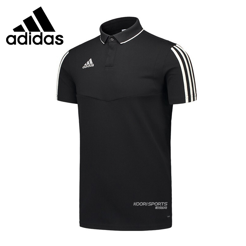 Original New Arrival  Adidas TIRO19 CO POLO Men's POLO  short sleeve Sportswear