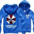 New Free Shipping Protective Umbrella Resident Evil Cosplay Sweatshirts Cotton Hoodies Costume Coat Jacket