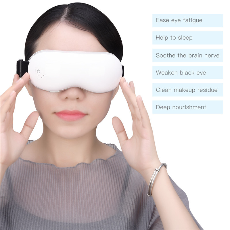 Adjustable Electric Vibration Eye Massager Magnetic Air Pressure Infrared Hot Compress Massage Glasses Wireless EyeCare Device46