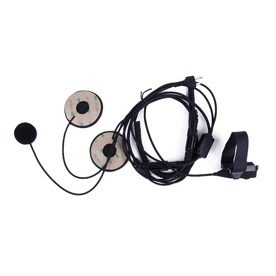 YIDATON Motorcycle Full Face Helmet Headset Microphone For ICOM IC-F21 IC-F26 IC-IV8 IC-F3S Radios With Finger PTT New Headset