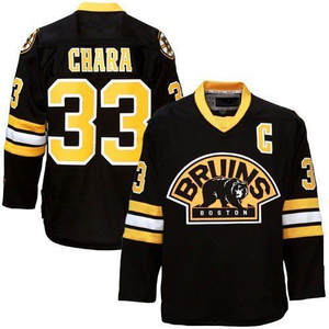 Vintage Men s  33 Zdeno Chara BOSTON Bruins Hockey Jersey Embroidery  Stitched Customize any number and name e9d2b1981
